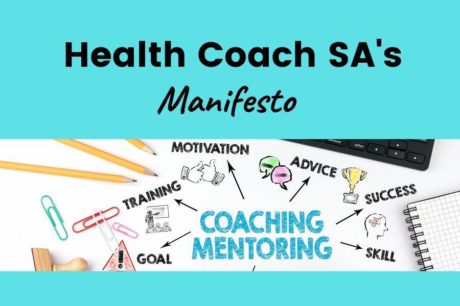 health coach sa manifesto